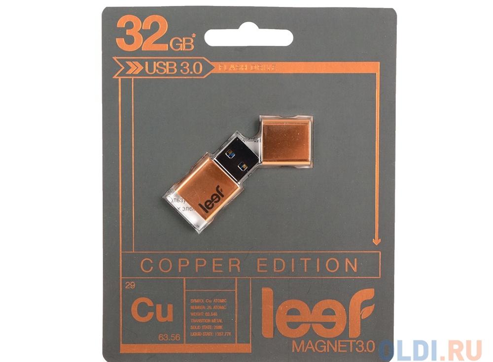 Внешний накопитель 32GB Leef Magnet (USB 3.0) (LFMGN-032COP)