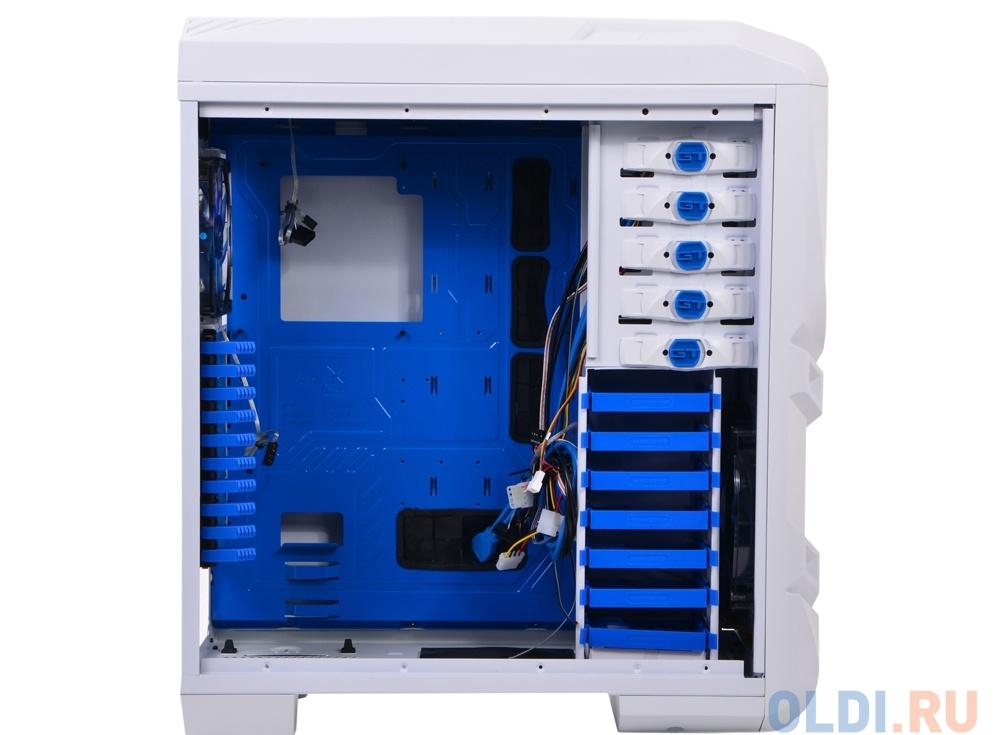 Корпус Aerocool GT-S White Edition без БП, Full Tower, XL-ATX, сталь 1.2мм, USB 3.0, контроллер вентиляторов, вент-ры: 2x20см LED, 1x 14см