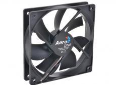 Вентилятор Aerocool Dark Force 12см Black (без подсветки), 3+4 pin, 41.4 CFM, 1200 RPM, 22.5 dBA