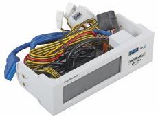 Контроллер вентиляторов Aerocool Cool Touch-R, белый 1 x USB 3.0, карт-ридер, сенсорный, до 4-х вентиляторов, до 20Вт каждый
