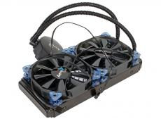 Система жидкостного охлаждения Aerocool Likai 240, до 350W, PWM, 800-2000 RPM, 2х12см, LGA 2011/1156/1155/1150/1366/775, FM2/FM1/AM3+/AM3/AM2+/AM2.