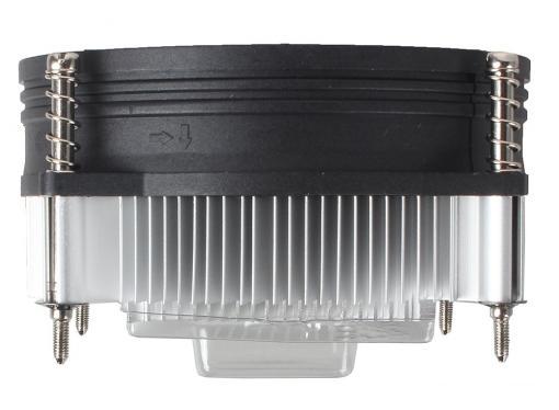Кулер для процессора Cooler Master for Intel DP6-9EDSA-0L-GP для LGA1156, 3 пин, TDP 73-84 Вт, алюминиевый радиатор, винты, вентилятор 95x95x25 мм, 2600 об/мин