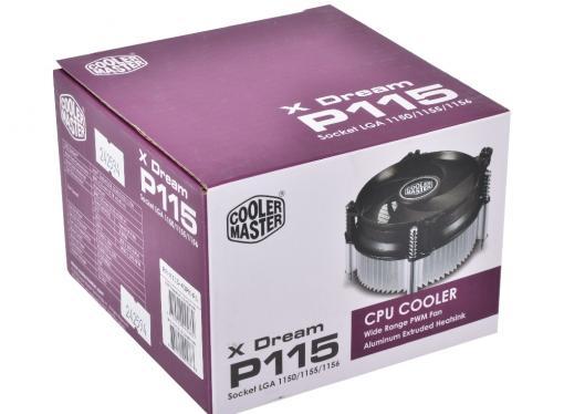 Кулер для процессора Cooler Master Blizzard X115 socket 1150/1155/1156    RR-X115-40PK-R1