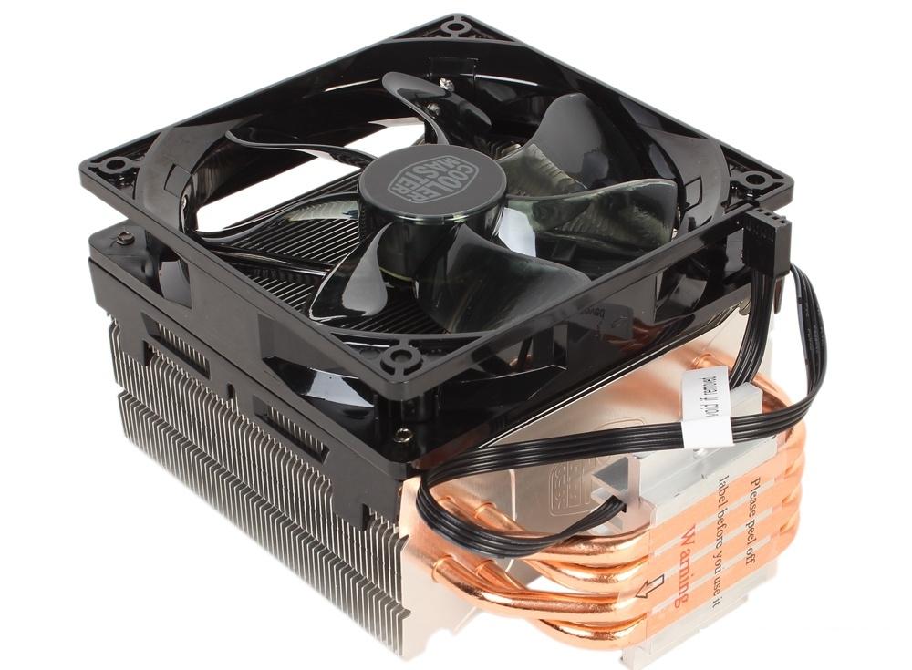 Кулер для процессора Cooler Master Hyper 212 LED (RR-212L-16PR-R1) 2011-3/2011/1156/1155/1151/1150/775/AM3+/AM3/AM2+/FM2+/FM2/FM1 fan 12 cm, 600-1600 RPM, 66.3 CFM