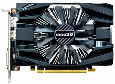 Видеокарта Inno3D GeForce GTX 1060 Compact N1060-6DDN-L5GM 3Gb 1506Mhz NVIDIA GeForce GTX1060/GDDR5/8000/192 bit/PCI-E/ DVI DP HDMI