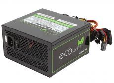 блок питания  chieftec 500w retail gpe-500s [eco] atx v.2.3, кпд > 85%, a.pfc, 1x pci-e (6+2-pin), 4x sata, 2x molex, 4 pin, fan 12cm