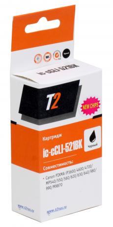 Картридж T2 IC-CCLI-521BK Black (с чипом)