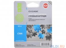 Картридж CACTUS  CS-CLI426C для Canon PIXMA MG5140/5240/6140/8140; MX884, голубой, 8.4 мл