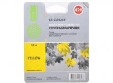 Картридж CACTUS  CS-CLI426Y для Canon PIXMA MG5140/5240/6140/8140; MX884, желтый,8.4 мл