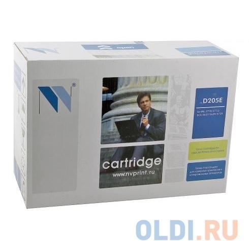 Картридж NV Print совместимый Samsung MLT-D205E для  ML-3710/SCX-5637. Чёрный. 10000 страниц.