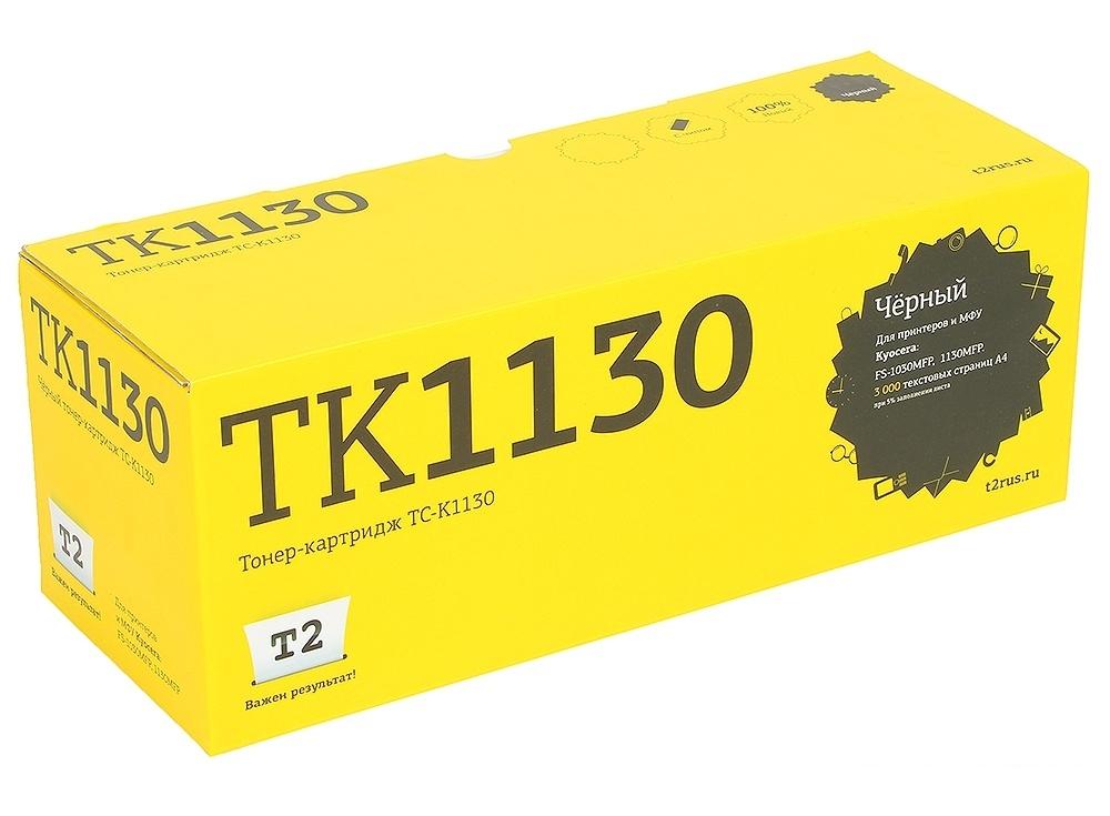 Тонер-картридж T2 TC-K1130 (TK-1130) с чипом