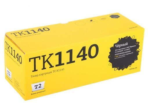Тонер-картридж T2 TC-K1140 (TK-1140) с чипом
