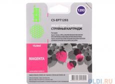 картридж cactus cs-ept1293 для epson stylus office b42 bx305 bx305f bx320 пурпурный 390стр