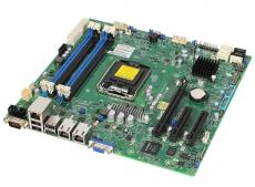 Материнская плата  Supermicro MBD-X10SLM-F-O 1xLGA1150, C224, Xeon E3-1200 v3, mATX, 4xDIMM (up to 32GB), 1x PCI-E 3.0 x8 (in x16), 1x PCI-E 2.0 x8 (i