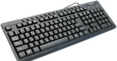 клавиатура gembird kb-8300um-bl-r, usb, черная, 15 м/мед клавиш