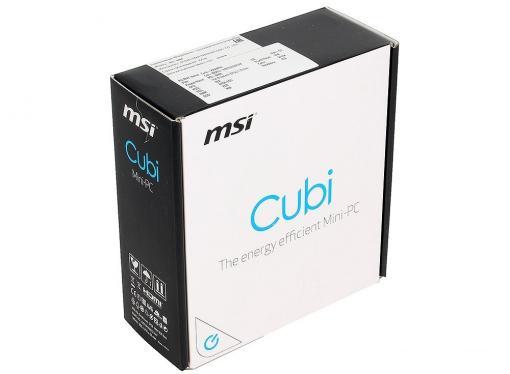 мини-компьютер msi cubi-226xru celeron 3215u (1.7)/2gb/64gb ssd + 2.5