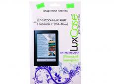 защитная пленка для электронных книг luxcase с экраном 7'' (154x86 мм), антибликовая