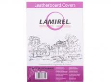 обложки lamirel delta a4, картонные, с тиснением под кожу , цвет: черный, 250г/м?, 100шт