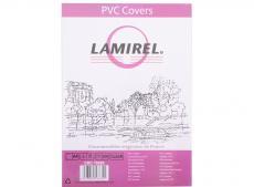 обложки lamirel transparent a4, pvc, прозрачные, 150мкм, 100шт