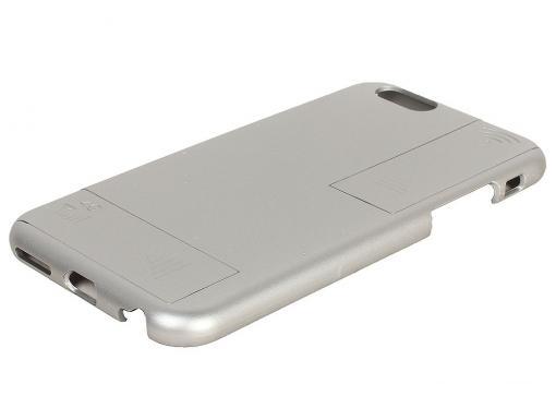 Чехол с дополнительными антеннами Gmini GM-AC-IP6SR, для iPhone 6/6S, для улучшения качества 4G и Wi-Fi сигнала, Серебристый