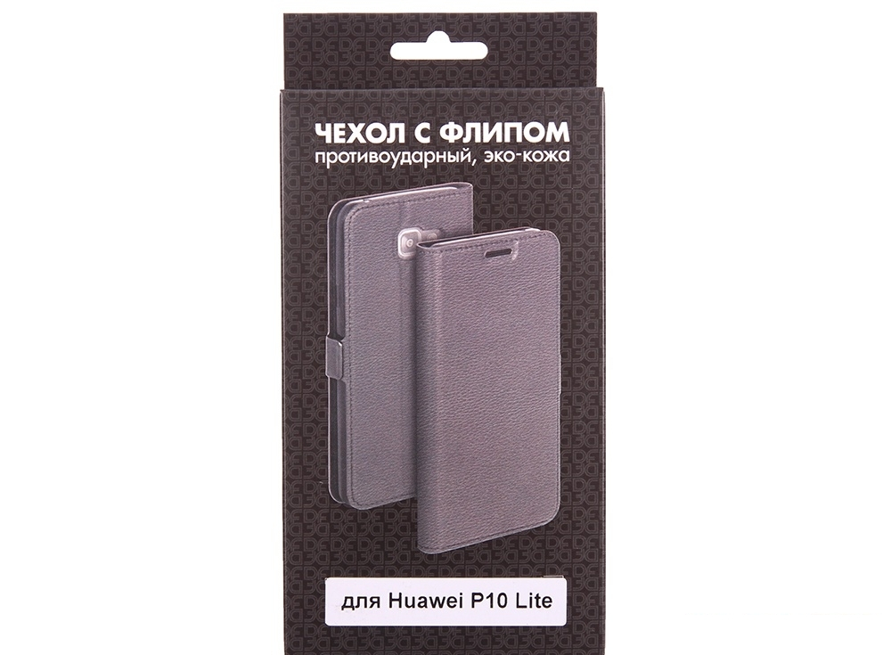 Чехол с флипом для Huawei P10 Lite DF hwFlip-20