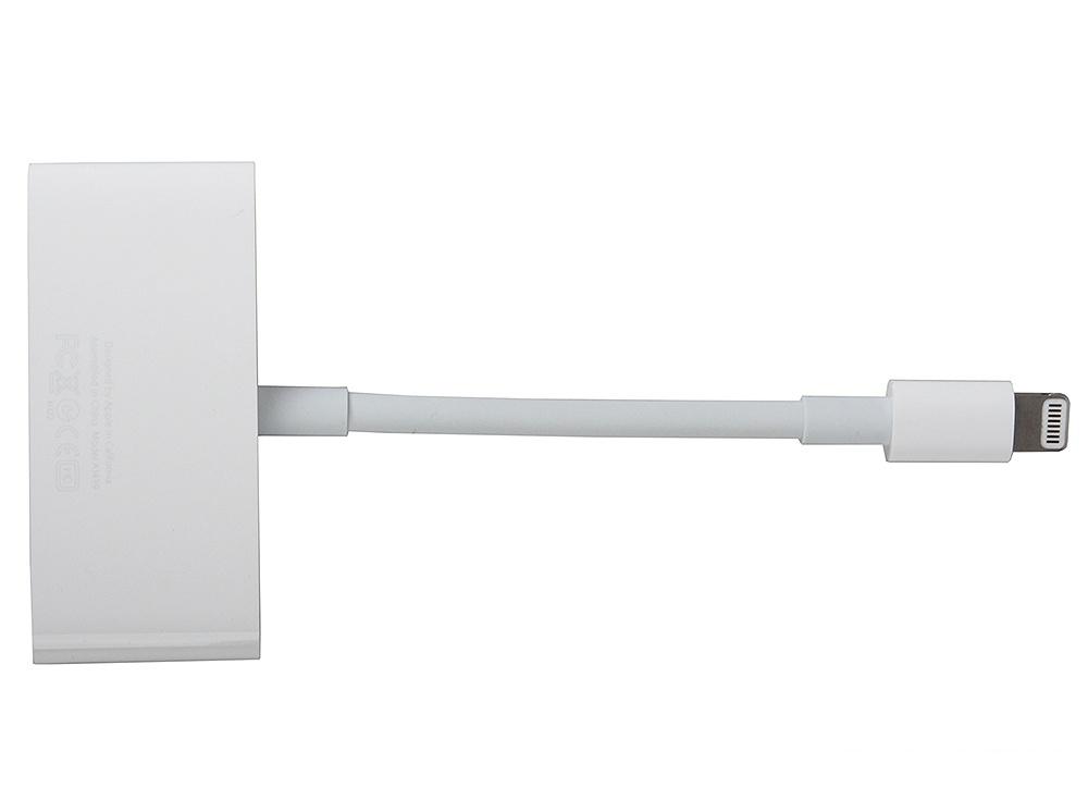 Адаптер-переходник Apple Lightning to VGA Adapter (MD825ZM/A)