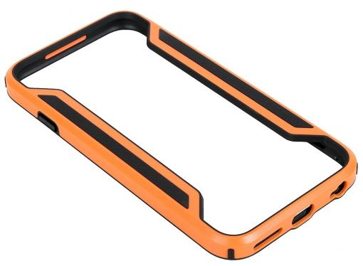 Бампер Nillkin Armor-Border series для Apple iPhone 6 (Цвет-оранжевый), T-N-iPhone6-017