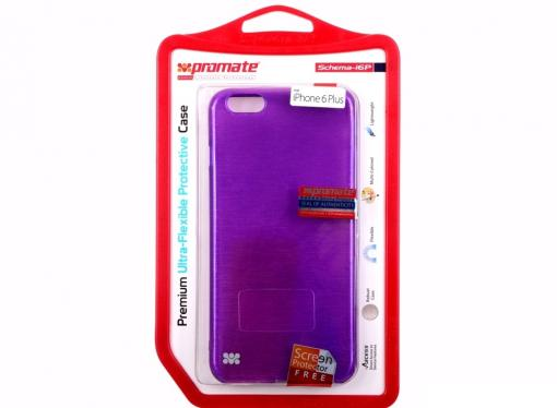 Накладка для iPhone 6 Plus Promate Schema-i6P пурпурный