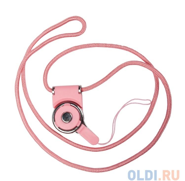 Бампер для iPhone 6/6s NODEA со шнурком (розовый) R0007132