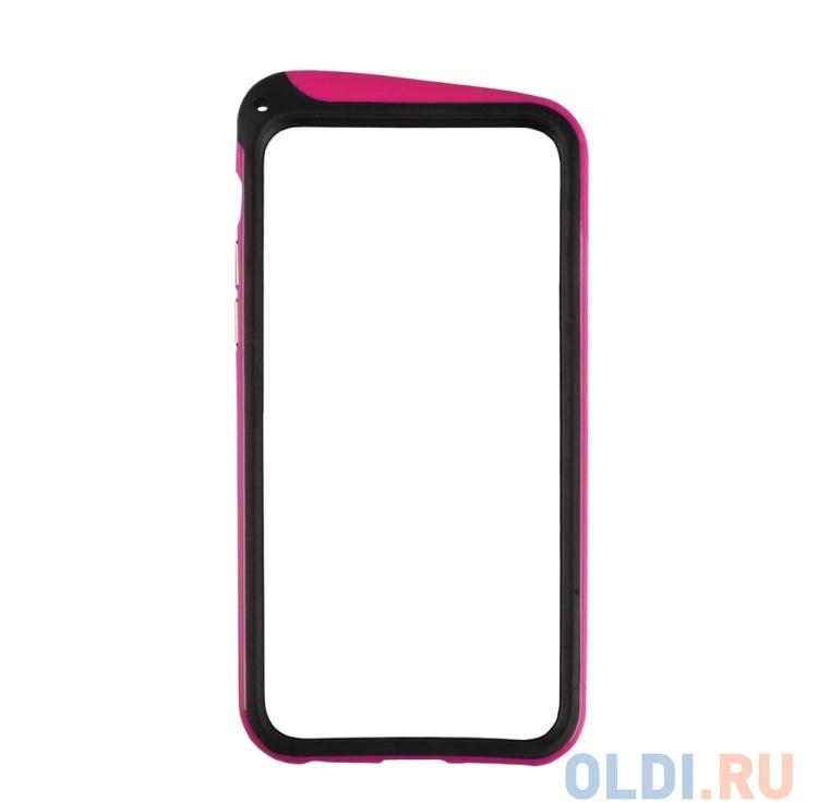 Бампер для iPhone 6/6s NODEA со шнурком (темно-розовый) R0007133