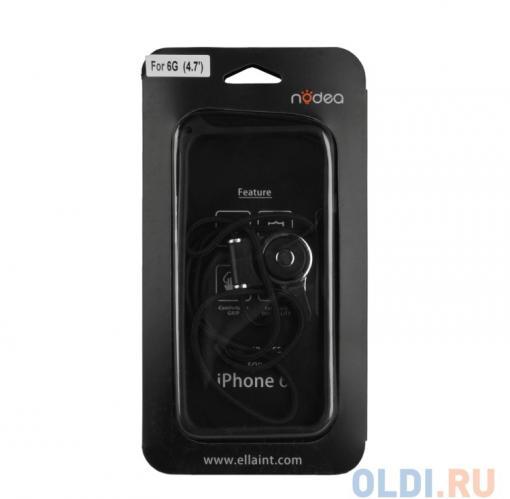 Бампер для iPhone 6/6s NODEA со шнурком (черный) R0007130