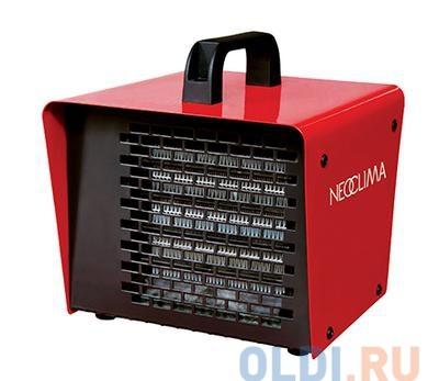 Тепловая пушка NEOCLIMA KX-2 2000 Вт, керамический нагревательный элемент, Не сушит  воздух, Антивандальное исполнение