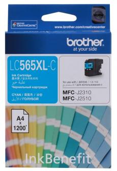 Картридж струйный Brother LC565XLC