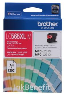 Картридж струйный Brother LC565XLM