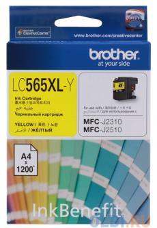 Картридж струйный Brother LC565XLY