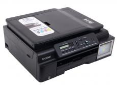 МФУ струйное Brother DCP-T700W Ink Benefit Plus принтер/сканер/копир, A4, 11/6 стр/мин, ADF, 64Мб, USB, WiFi