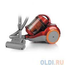 Пылесос VITEK VT-1826(R)  ( 1800 Вт, мощность всасывания 400 Вт, объем пылесборника 2,5 л,Без мешка)