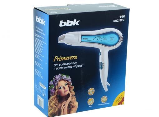 Фен BBK BHD3205i бело-карамельный