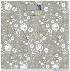 Электронные напольные весы UNIT UBS-2052 Темно-Серый