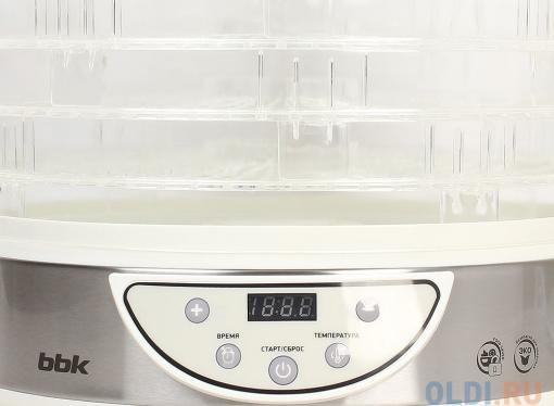 Сушилка для овощей и фруктов BBK BDH205D белый металлик