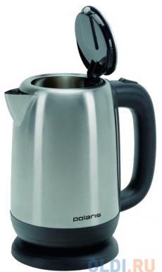 Чайник электрический Polaris PWK 1793CA 1.7л. 2200Вт серебристый матовый (корпус: нержавеющая сталь)