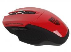 беспроводная мышь jet.a om-u38g red comfort (1200/1600/2000 dpi, 5 кнопок, usb, бат. ааа 2шт)