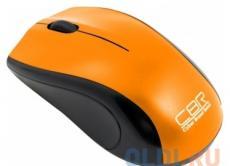 Мышь CBR CM-100 Orange, оптика, 800dpi, офисн., USB