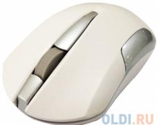 мышь cbr cm-422 white , оптика, радио 2,4 ггц, 1600 dpi, usb