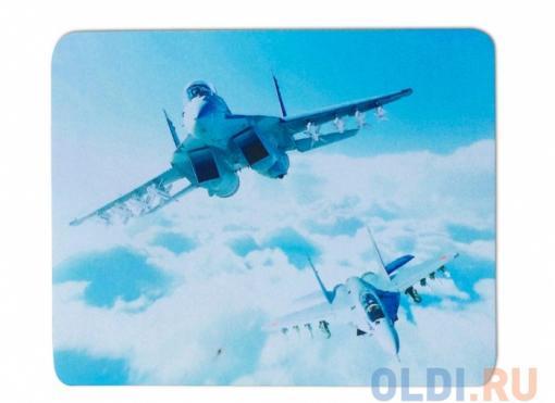 Мышь сувенирная+ коврик CBR Aero Battle,  1200 dpi, рисунок, USB