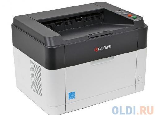 Принтер Kyocera FS-1040 (Лазерный, 20стр/мин, 600dpi, USB2.0, A4)