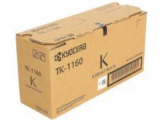 Тонер Kyocera TK-1160 для P2040dn/P2040dw, Чёрный. 7 200 страниц.