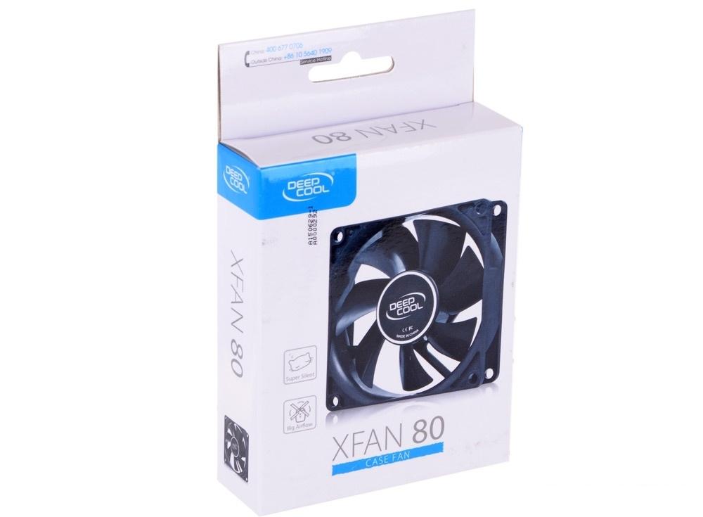 Вентилятор DeepCool XFAN 80 (Molex 20dB 1800rpm 82g)