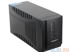 ИБП Ippon Smart Power Pro 1000 black 1000VA/600W RS-232,USB (4+2 IEC)