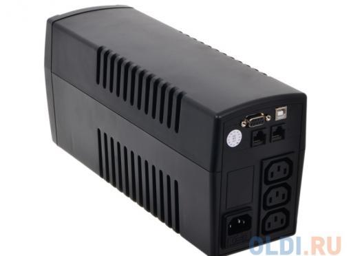 ИБП CyberPower VALUE 800EI-B 800VA/480W USB/RS-232/RJ11/45 (3 IEC)